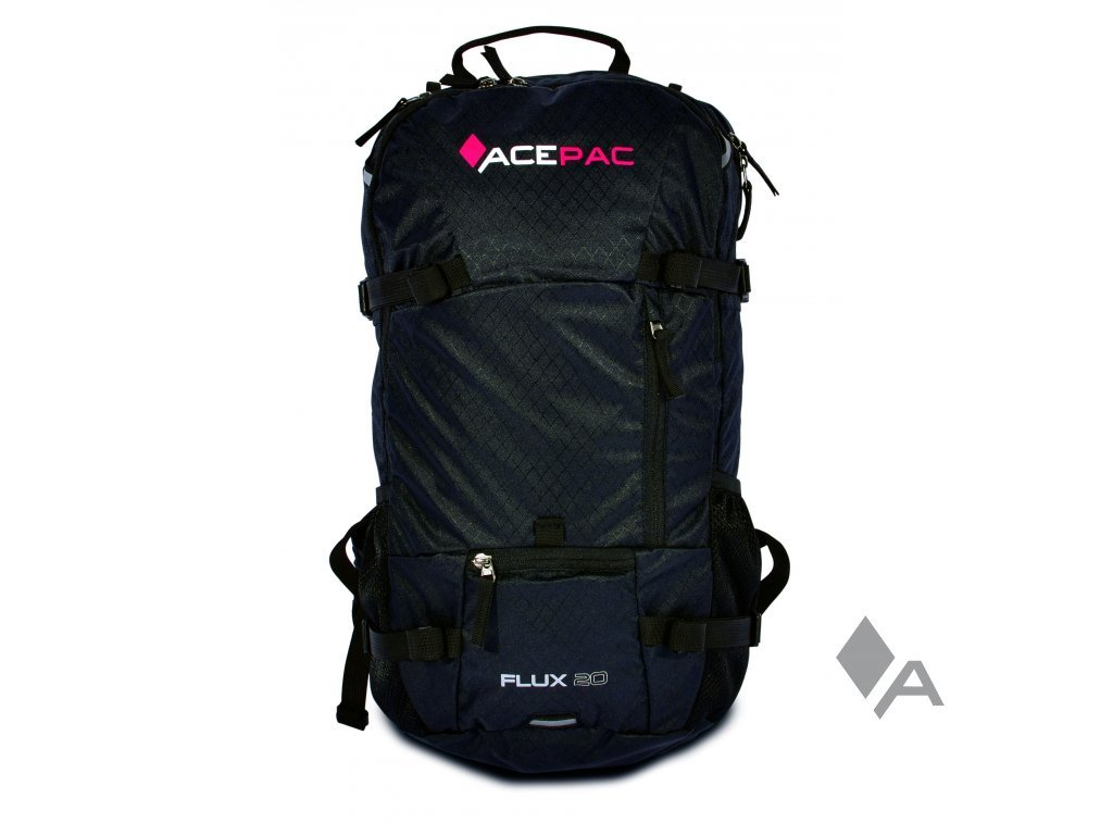 ACEPAC(エースパック) バックパックフレックス BACKPACK FLUX 20 BLK ブラック ブラック   B07BV31FYZ