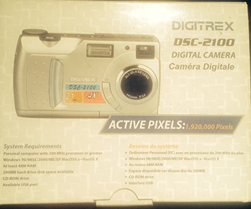 Digitrex DSC-2100 2MP Digital Camera