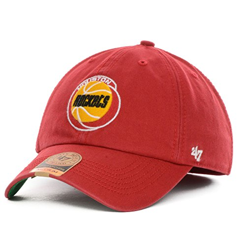 NBA Houston Rockets '47 Brand Franchise Fitted Hat, Large, Red