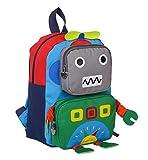 TeMan Children Backpack Kindergarten Cartoon Schoolbag for Kids Robot Backpack Green