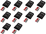 10 x Quantity of Walkera QR X350 PRO FPV Ultra 8GB UHI-I/Class 10 Micro SDHC Memory Card Up To 48MB/s With Adapter- SDSDQUAN-008G-G4A [Newest Version] - FAST FREE SHIPPING FROM Orlando, Florida USA!