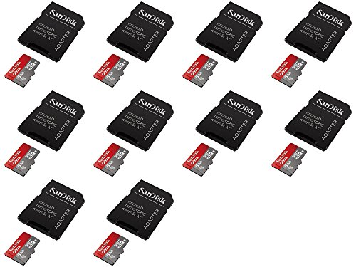 10 x Quantity of LG G Pad F7.0 Ultra 8GB UHI-I/Class 10 Micro SDHC Memory Card Up To 48MB/s With Adapter- SDSDQUAN-008G-G4A [Newest Version] SDSDQUAN-0 - FAST FREE SHIPPING FROM Orlando, Florida USA!