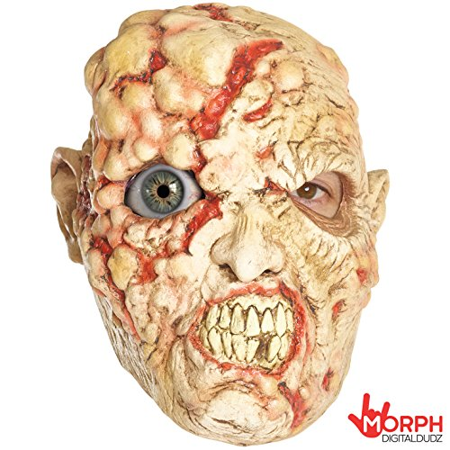 Boil Face Zombie Digital Dudz Mask Unisex Fancy Dress Costume for $<!--$17.95-->