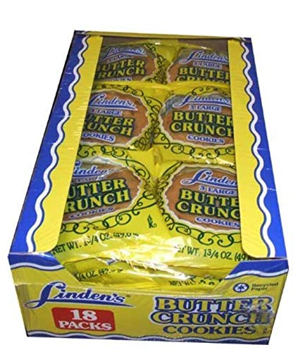 (LINDENS BUTTER CRUNCH 3PK 2 of BOX of)