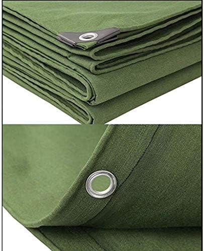 Lona De Lona Gruesa Impermeable Lona De Protección Solar Lona De Alquitrán Industrial Tarpaulin ( Size : 10x 10m )