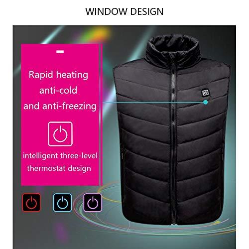 Usb Chauffant Pour Zezego Électrique Vest Vêtement Gilet Ajustable Alimentation Chargement Hommes Mobile 7qqw8aZ