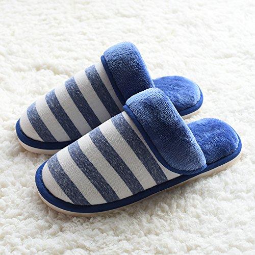 Fankou Autunno e Inverno metà femmina pantofole Baotou piano lounge retrò, ,35, scarpe nere