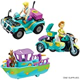ScoobyDoo Mini Mystery Vehicle & Figure (one supplied)