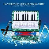 Vbestlife Accordion for Kids Children, 17 Key 8