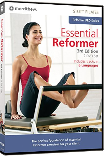 STOTT PILATES Essential Reformer 3rd Edition - 2 Disc Set (6 Languages)