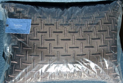 Vera Wang Simply Vera 12 X 16 Chocolate Brown Decorative Pillow