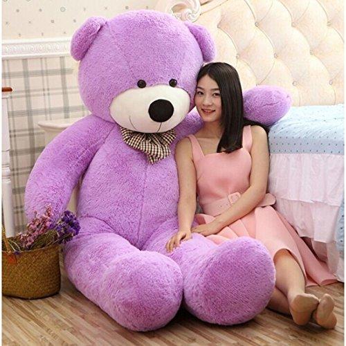 Buttercup Soft Toys Medium Very Soft Lovable/Huggable Teddy Bear for Girlfriend/Birthday Gift/Boy/Girl - 3 Feet (91 cm, Purple)