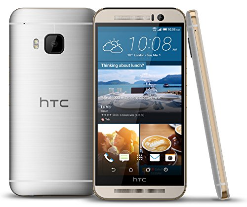 HTC One M9 32GB Factory Unlocked GSM 4G LTE Octa-Core Android Smartphone w/ 20.7MP Camera - Silver/Rose Gold
