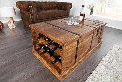 URGE Sheesham Wood Country Side Bar 100x60x40 cm (LxDxH)