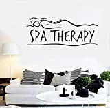 Andre Shop® Vinyl Decal Wall Sticker Salon Spa Massage Therapy Relax Sexy Girlig1707M 13.5 35