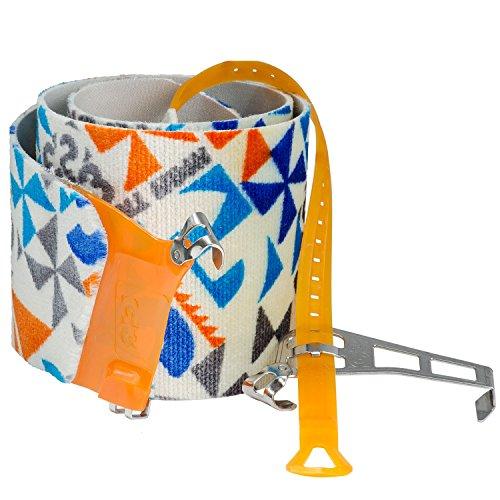 G3 Alpinist Splitboard High Traction Skins - S/M - Blue/Grey/Orange by G3
