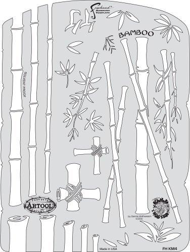 Con 100% de calidad y servicio de% 100. Artool Freehand Airbrush Templates, Kanji Master Bamboo Bamboo Bamboo by Iwata-Medea  buena calidad