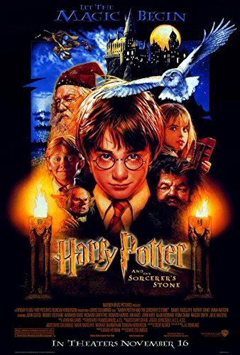 Harry Potter and the Sorcerer's Stone Movie POSTER 11 x 17 D