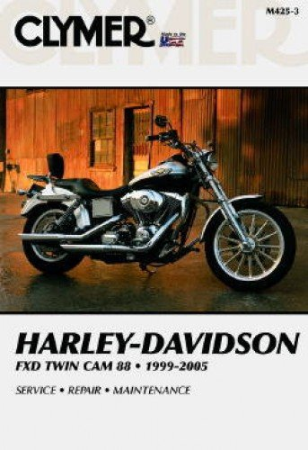 M425-3 1999-2005 Harley Davidson Dyna Glide Twin Cam Clymer Motorcycle Repair Manual
