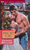 Unbroken Vows, Frances Williams, 0373077246
