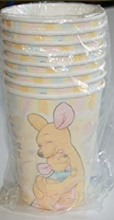 Amazon precious moments baby shower invitations baby boy baby disney winnie the pooh baby roo baby shower party cups 8 paper cups filmwisefo