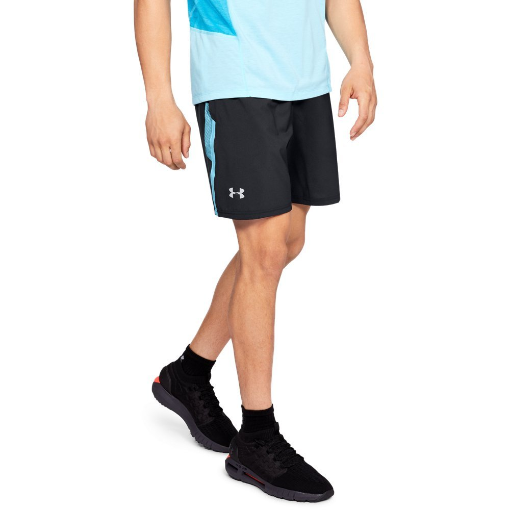 94ae8819c3 Galleon - Under Armour Men's Launch SW 7'' Shorts, Black (019)/Reflective,  XX-Large