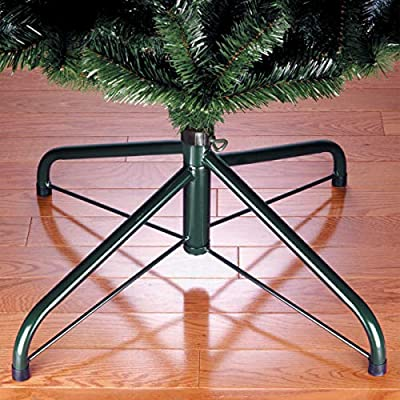 Amazon Com National Tree Company Christmas Tree Stand Fits 1 25 Inch Pole Folding Stand 24 24 Inch Multicolor Home Kitchen