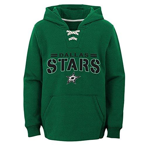 Outerstuff NHL Dallas Stars Youth Boys Standard Issue Fleece Hoodie, Large(14-16), Kelly Green