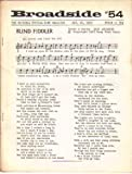img - for Broadside Topical Song Magazine #54 Jan 20, 1965 book / textbook / text book