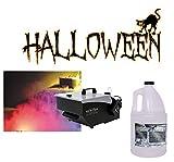 Halloween American DJ Mister Kool Low Laying Fog Smoke Machine & Gallon Fluid
