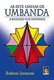 capa de As Sete Linhas de Umbanda. A Religião dos Mistérios