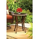 Better Homes & Gardens* Outdoor Side Table in Burnt Orange