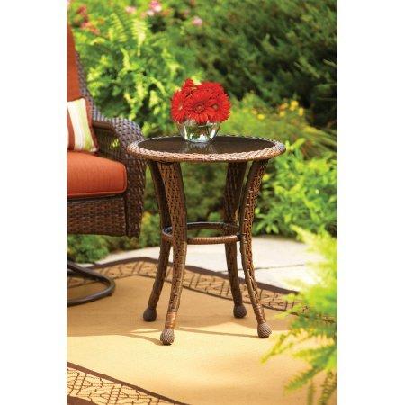 Outdoor Side Table Azalea Ridge, Burnt Orange (Furniture Orange Garden)