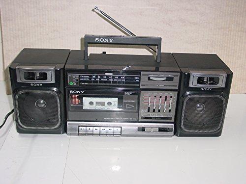 Vintage 80's Sony Model CFS-1000 Boombox AM/FM Stereo Radio