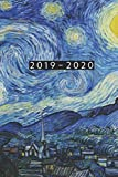 2019 - 2020: Weekly Planner Starting July 2019 - Dec 2020 | 6 x 9 Dated Agenda | Appointment Calendar | 18 Month Organizer Book | Soft-Cover Van Gogh Starry Night