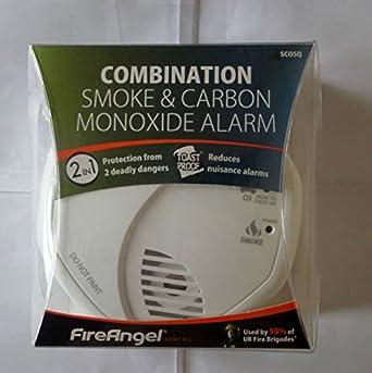 Detector de monóxido de carbono y humo FireAngel SCO5: Amazon.es: Industria, empresas y ciencia
