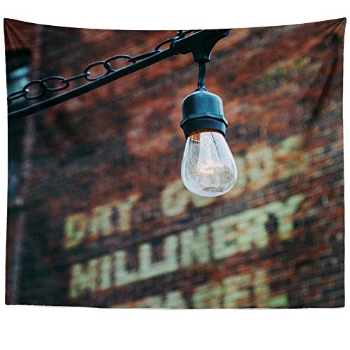 Estate Outdoor Hanging Lantern - Westlake Art - Light Lamp - Wall Hanging Tapestry - Picture Photography Artwork Home Decor Living Room - 68x80 Inch (4A21F)