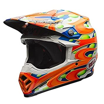 BELL Moto-9 Flex LE MC Replica MX Casco Naranja Talla XL (60 –