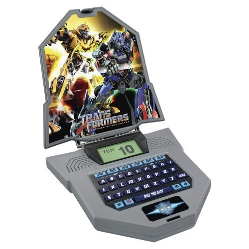 Laptop Autobot - Transformers Autobot Learning Laptop Letters Spelling