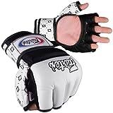 Fairtex MMA Grappling Gloves - FGV17 - WHITE/BLACK