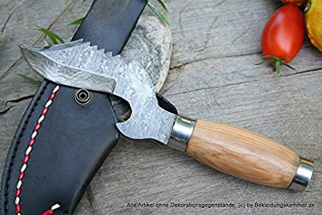 Damasco Cuchillo senuki - Cuchillo de acero de Damasco mejor ...