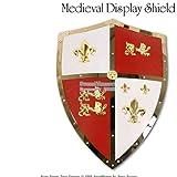 Medieval Royal Crusader Lion Shield Armor w/ handle