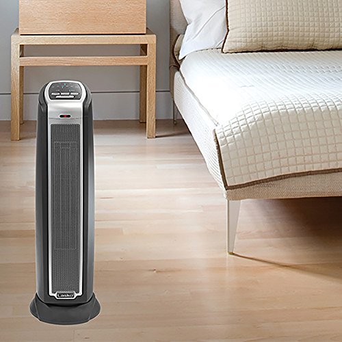 Lasko 5790 Oscillating Ceramic Tower Heater With Remote