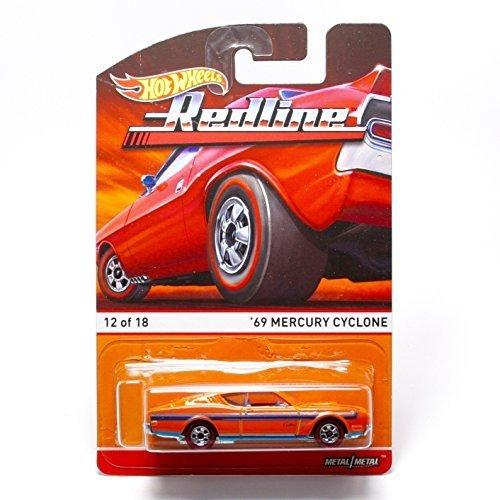 Hot Wheels '69 Mercury Cyclone (12 of 18) Redlines / Heritage Series 2015 1:64 Scale Die-Cast Vehicle