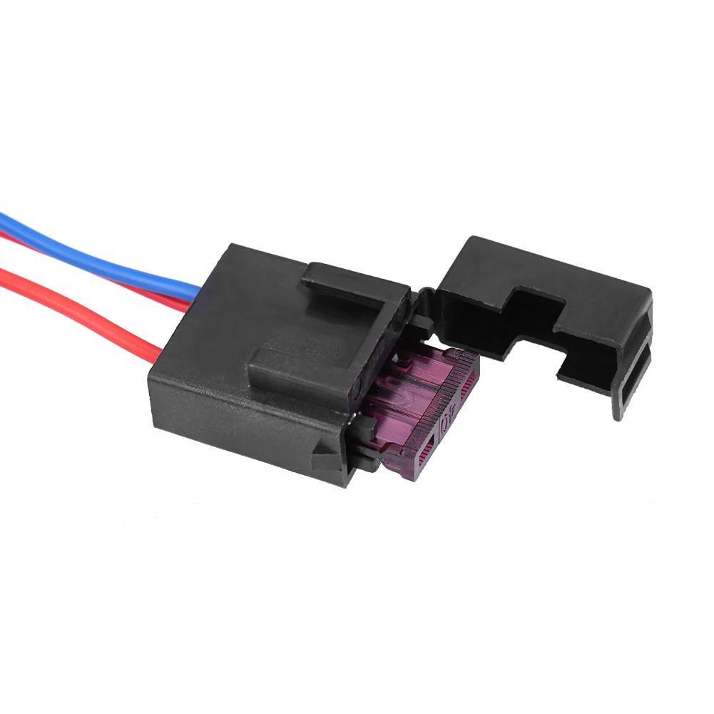 Kit de Rel/és Fusibles de 12V para interruptores de cableado Faros LED L/ámpara antiniebla
