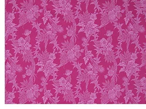 ハワイアンファブリック 生地 【ピンク・ロケラニ柄】 7058の商品画像