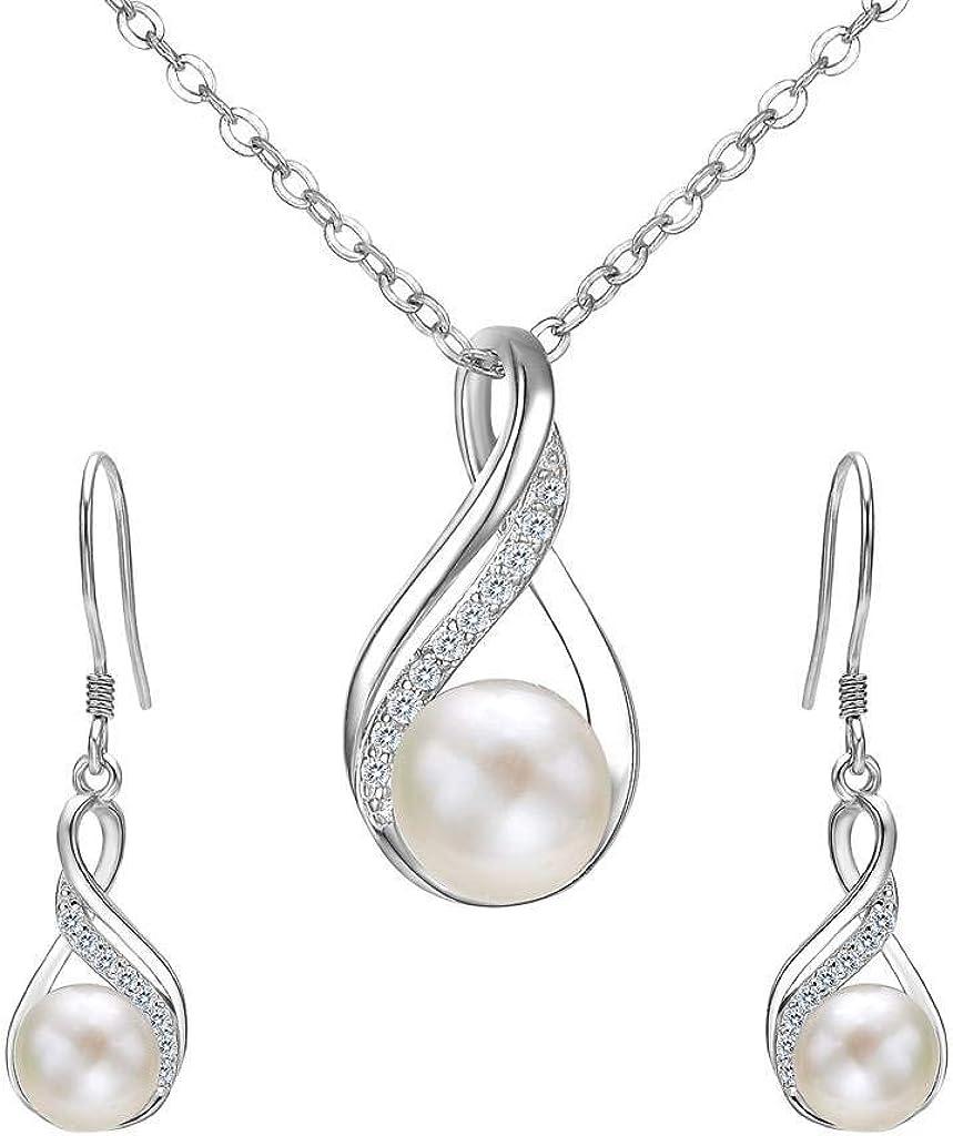 Clair Strass Cristal Collier Boucles d/'oreilles Bijoux Prom Bridal Drop Set Mariage