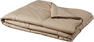 Blue Ridge Home Fashions 250 Thread Count Twin in Sand Color Down Alternative COMFORTERS
