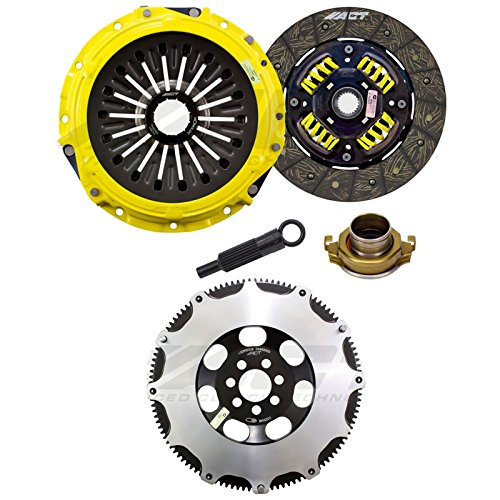 ACT Heavy Duty Street Sprung Clutch Disc Kit & XACT Flywheel Streetlite for 2008-15 Mitsubishi Evolution X 10 ()