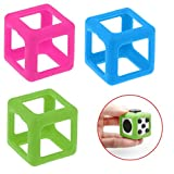 Mandy Fidget Cube Stress Relief Focus Toy Protective Cover Case Green